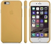 iPhone 6S/6 Leather Case Gold рис.1