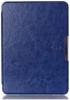 Leather case for Amazon Kindle 6 (7gen) Dark Blue рис.1