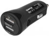 Baseus 2.1A Dual USB Car Charger Tiny-Color Black (CCALL-CR01) рис.2