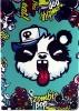 Paint Case Zombie Pop Panda for iPad Air 2 рис.1