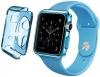 Apple Watch 38mm TPU Case - Clear Blue рис.1