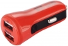 Baseus 2.1A Dual USB Car Charger Tiny-Color Red (CCALL-CR09) рис.2