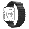 Apple Leather Loop Band for Apple Watch 42mm/44mm Black рис.1