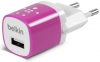 Belkin Home Charger 1 USB port (5 Watt / 1 Amp) Pink рис.1