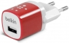 Belkin Home Charger 1 USB port (5 Watt / 1 Amp) Red рис.1