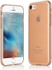 G-Case 0.5mm TPU Case (with anti-dust jack) for iPhone 7 - Transparent Gold (6923115105504) мал.1
