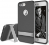 Rock Royce Series with stand Case for iPhone 8 Plus/7 Plus - Grey (6950290637841) рис.3