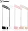 Baseus Full Glass PET Soft 3D (0.2 mm) for iPhone 8/7 Gold мал.2