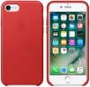 Apple iPhone 7 Leather Case (OEM) - Red рис.1