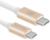 Baseus Gather Series Type-C to Type-C Cable Luxury Gold (CATYPEC2-GR0V) рис.3