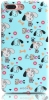 Mooke Meng Chong Series Case for iPhone 8 Plus/7 Plus Light Blue мал.1