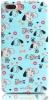Mooke Meng Chong Series Case for iPhone 8 Plus/7 Plus Light Blue рис.1