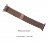 Apple Milanese Loop Band for Apple Watch 38mm Rose Gold рис.1
