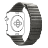 Apple Leather Loop Band for Apple Watch 42mm/44mm Grey рис.1