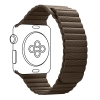 Apple Leather Loop Band for Apple Watch 38mm/40mm Brown рис.1