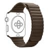 Armorstandart Leather Loop для Apple Watch All Series 38/40 mm Brown (ARM48657) мал.1