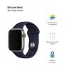 Apple Sport Band for Apple Watch 42mm Dark Blue (3 straps) рис.2