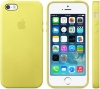 Apple iPhone SE/5S/5 Silicon Case (HC) - Yellow рис.2