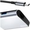 Baseus Enjoyment series Type-C to RJ45+USB3.0 HUB Adapter Gray (CATSX-B0G) мал.5