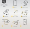 Защитное стекло ArmorStandart 3D Soft Edge для Apple iPhone SE new/8 Black (ARM49732-GSE-BK) мал.8