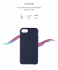 Apple iPhone 8 Silicone Case (OEM) - Midnight Blue рис.3