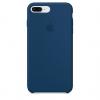 Apple iPhone 8 Plus Silicone Case (HC) - Blue Cobalt рис.1