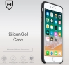 Apple iPhone 8 Plus Silicone Case (HC) - Black рис.3