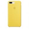 Apple iPhone 8 Plus Silicone Case (HC) - Yellow рис.1