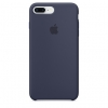 Apple iPhone 8 Plus Silicone Case (HC) - Midnight Blue рис.1