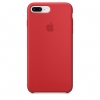 Apple iPhone 8 Plus Silicone Case (HC) - Red рис.1