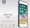 Apple iPhone 8 Plus Silicone Case (HC) - Dark Grey рис.3