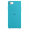 Apple iPhone 8/SE new Silicone Case (HC) - Light Blue рис.1