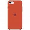 Apple iPhone 8 Silicone Case (HC) - Orange рис.1