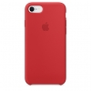 Apple iPhone 8/SE new Silicone Case (HC) - Red рис.1