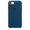 Apple iPhone 8 Silicone Case (HC) - Blue Cobalt рис.1