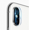 Baseus Camera Lens Glass Film for iPhone X Transparent (SGAPIPHX-AJT02) рис.1