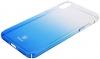 Baseus Glaze Case for iPhone X Transparent Blue мал.2