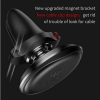 Baseus Magnetic Air Vent Car Mount Holder with cable clip Red (SUGX-A09) рис.4