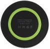 Wireless Charger Mini Q5 Black/Green рис.3