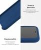 Apple iPhone XS/X Silicone Case (OEM) - Blue Cobalt рис.6