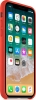 Apple iPhone X Leather Case (OEM) - Orange рис.2