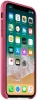 Leather Case Original for Apple iPhone XS/X (OEM) - Pink мал.2