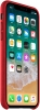 Apple iPhone X Leather Case (OEM) - Red рис.2