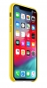 Apple iPhone X Leather Case (OEM) - Yellow рис.2