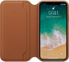 Apple iPhone X Leather Folio (OEM) - Saddle Brown рис.3