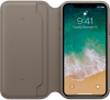 Apple iPhone X Leather Folio (OEM) - Taupe рис.3