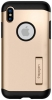 Spigen Case Slim Armor for iPhone X Champagne Gold (057CS22136) рис.1