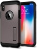 Spigen Case Tough Armor for iPhone X Gunmetal (057CS22161) рис.3