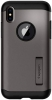 Spigen Case Slim Armor for iPhone X Gunmetal (057CS22135) рис.1