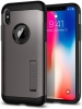 Spigen Case Slim Armor for iPhone X Gunmetal (057CS22135) рис.3